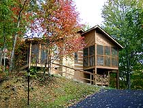 Pigeon Forge Swimming pool access Two Bedroom Cabin Rental