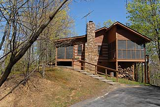 Pigeon Forge Semi Secluded Cabin Rental