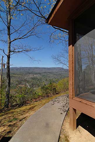 pigeon forge cabin with a view