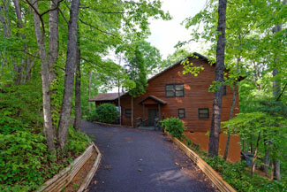 Pigeon Forge Two Bedroom Cabin Rental Panoramic Mountain View