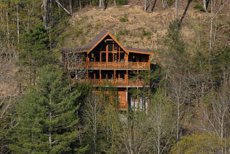 Fireside Chalet and Cabin Rentals -Pigeon Forge, Tennessee Large