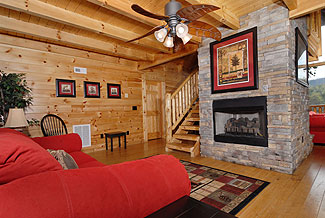 deluxe smoky mountain cabin