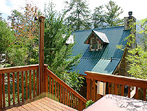 Pigeon Forge Two Bedroom Plus Loft Vacation Cabin Rental