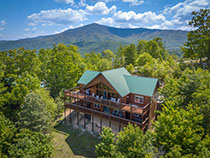 Pigeon Forge Four Bedroom Cabin Rental