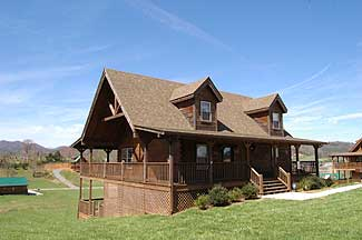 Pigeon Forge Mountain View Three Bedroom Cabin Rental