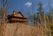 Pigeon Forge Cabin that has a Mountain View and Wireless Internet Access
