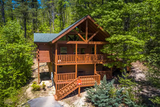 Pigeon Forge One Bedroom Honeymoon-Anniversary Cabin Rental