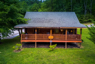 Pigeon Forge Two Bedroom Smoky Mountain Ridge Cabin Rental