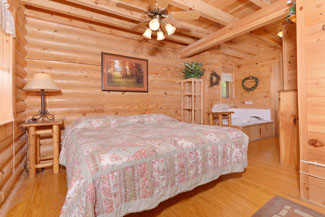 Pigeon Forge One Bedroom Cabin Rental