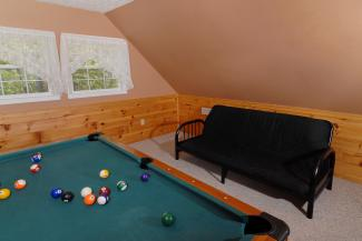 gameroom with pooltable