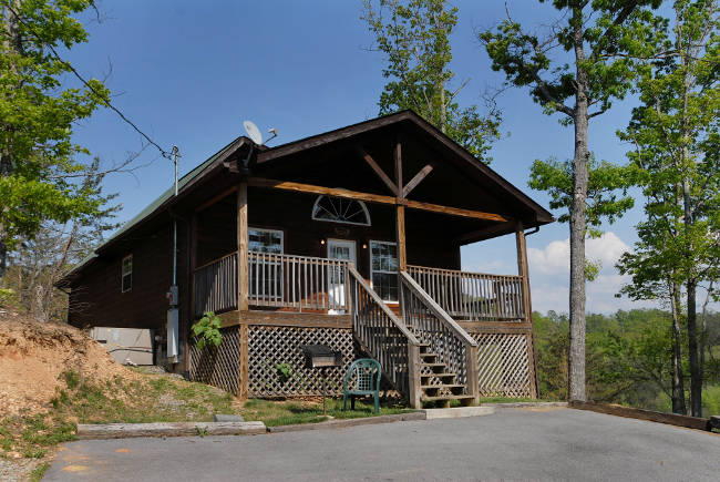 pigeon forge petfriendly cabin