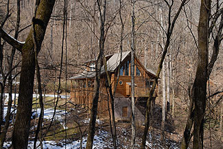 Pigeon Forge Cabin near a Private Stocked Fishing Pond