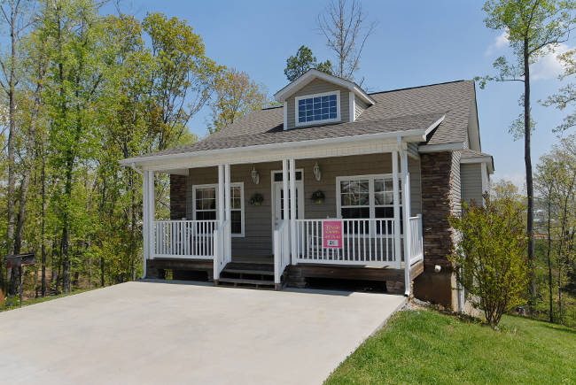Sunset Passion Brand New 2 Bedroom Cottage In Pigeon Forge Tennessee