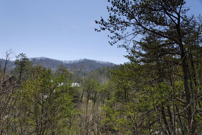 Pigeon Forge Mountain View Seven Bedroom Cabin Rental
