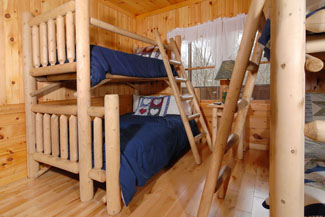 Pigeon Forge Cabin Bunk Beds