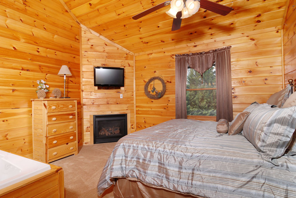 Pigeon Forge Cabin Indoor Private Whirlpool