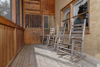 Pigeon Forge Cabin with Outdoor Seating Area