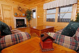 Lookout Ridge Pine Peak Way Cabin 222 Log Cabin In