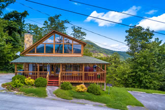 Pigeon Forge Luxury One Bedroom Plus Loft Cabin Rental