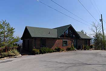 Secluded Two Bedroom Pigeon Forge Cabin Rental