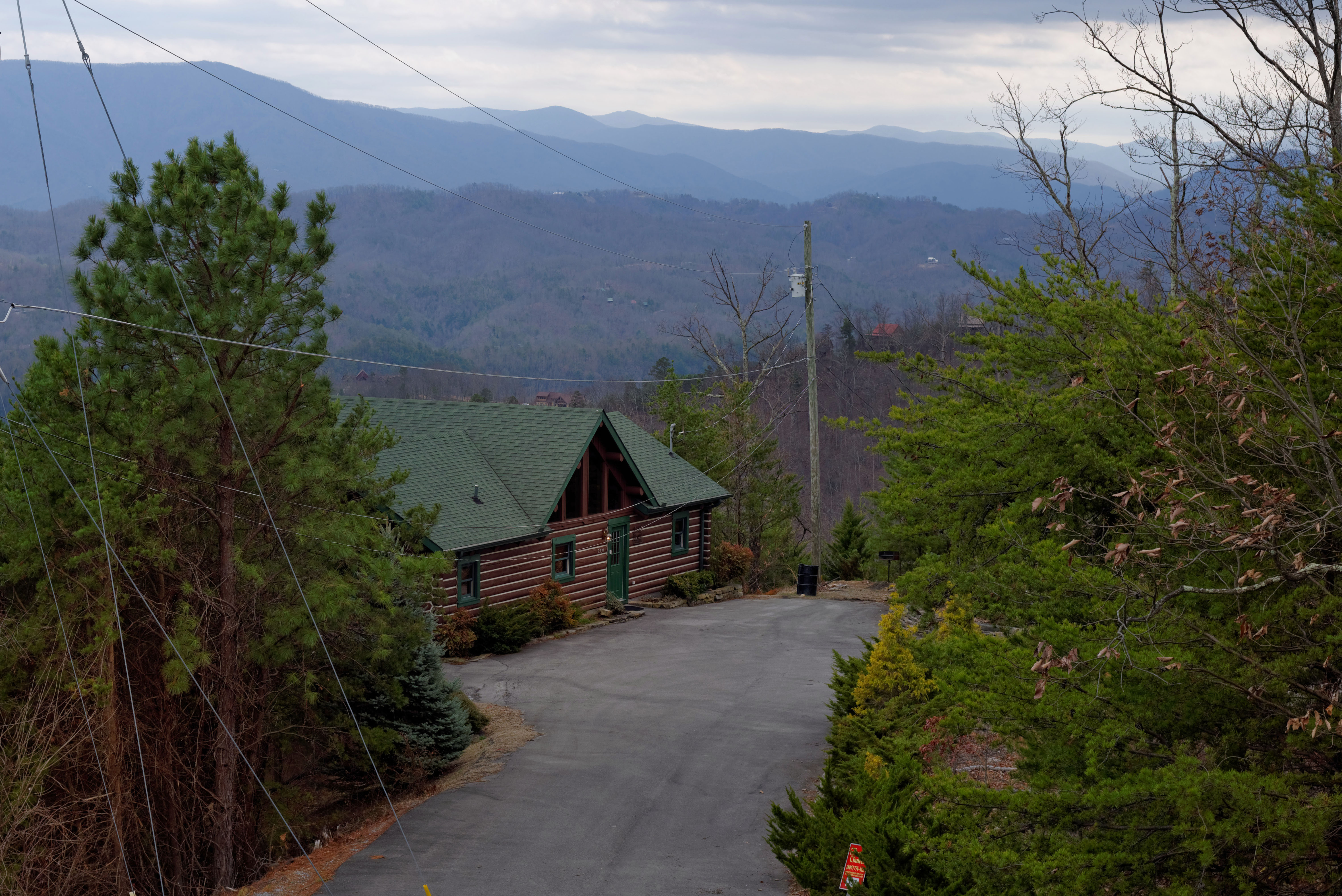 Pigeon Forge Cabin Rental Panoramic Mountain View