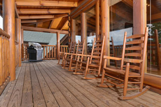 Pigeon Forge Cabin Rental Rockers