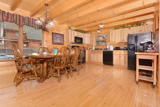Pigeon Forge Cabin Rental with a Keurig Station