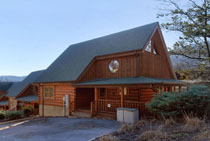 Two Bedroom Pigeon Forge Cabin with Internet Access with Indoor and Outdoor Swimming Pool
