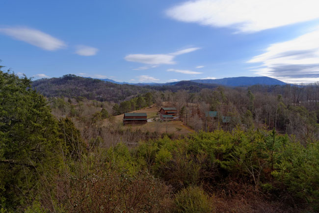 Pigeon Forge Cabin Rental Mountain View