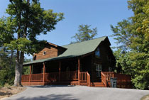 Pigeon Forge Three Bedroom Cabin