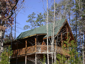 Pigeon Forge Pet friendly One bedroom plus loft cabin in the Pigeon Forge Area
