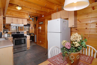 Pigeon Forge Cabin Rental with a Fully Equipped Kitchen