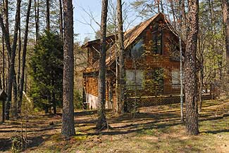 Pigeon Forge One Bedroom Cabin in the Woods