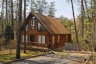 Pigeon Forge Smoky Mountain Cabin Rental in the Woods