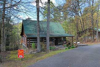 Pigeon Forge Two Bedroom Cabin Rental in the Smokies