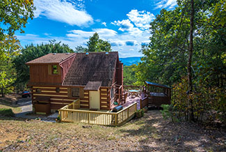 Pigeon Forge One Bedroom Plus loft Cabin Rental
