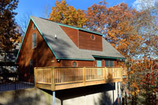 Pigeon Forge Two Bedroom Chalet with Internet Access