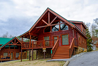 Pigeon Forge One Bedroom Cabin Rental Convenient to the Pigeon Forge Parkway