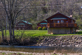 Pigeon Forge Two Bedroom River Cabin