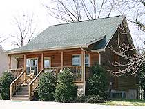 Pigeon Forge Vacation Chalet Rental with Little Pigeon River View