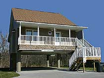 Convenient River Front Pigeon River Vacation Rental