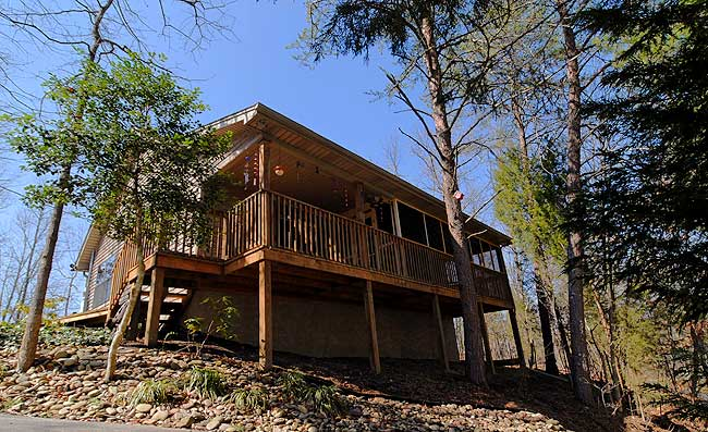 36bb0aa59ec8fa Cracker Jack Shack - Pigeon Forge 650 - 2 Bedroom Plus Loft Bedroom ...