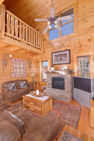 Tuck Yall In 1 Bedroom Plus Loft Cabin Rental The Preserve