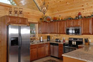 Pigeon Forge Cabin Rental With Fully Equipped Kitchen