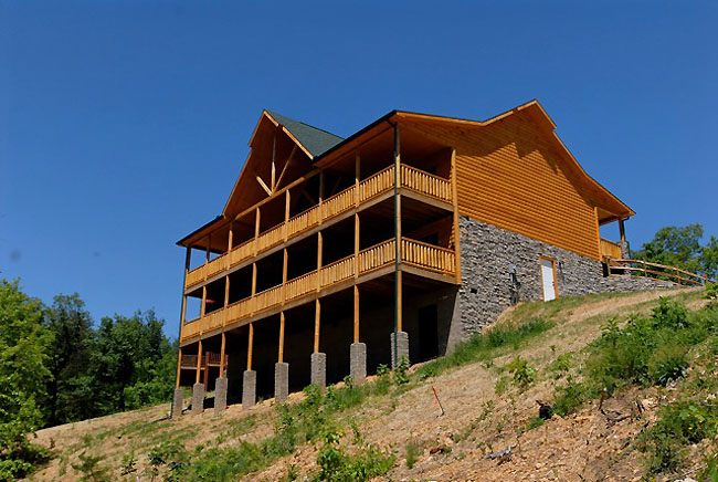 Pigeon Forge Cabin Rental Deluxe Four Bedroom Cabins