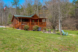 Wears Valley Tennessee Pigeon Forge Two Bedroom Cabin