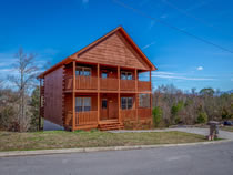 Sevierville Three Bedroom Cabin Rental with Game Room