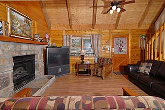 Caddyshack Lodge 6 Bedroom Cabin With Hot Tub And Game Room