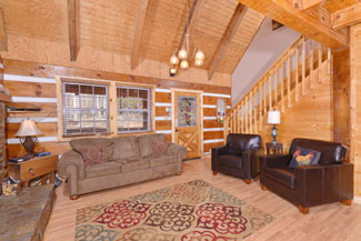 Pigeon Forge Three Bedroom Cabin Rentals