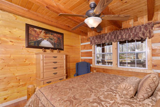 Pigeon Forge Master Suite on the Main level floor